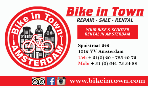 Bike Rental - Bike in Town - Your Host and Guide Amstedam