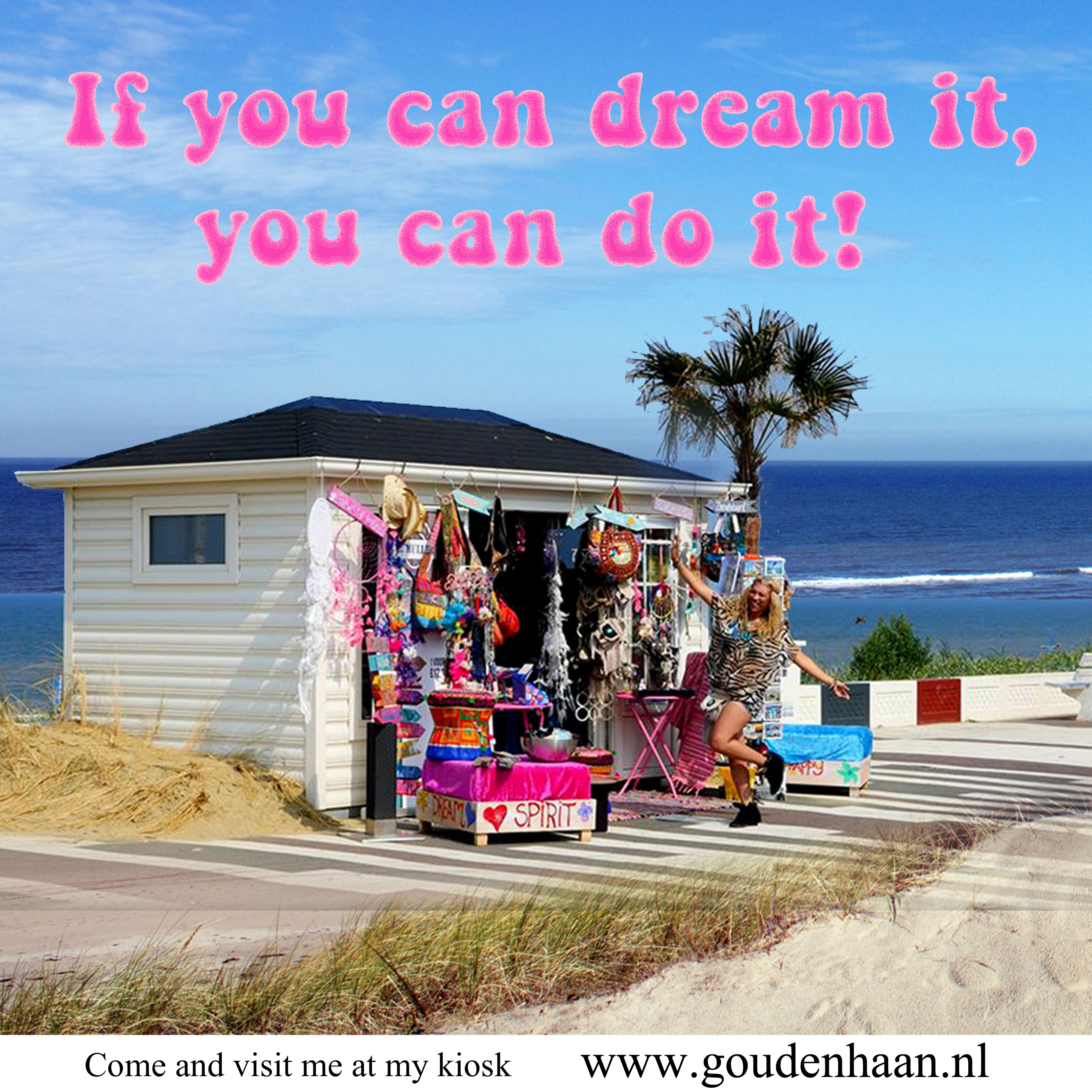 Kiosk Gina Petula Boulevard Zandvoort Beach of Amsterdam - Meet the Locals - Your Host & Guide