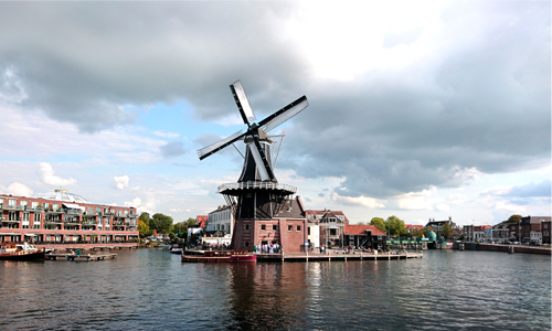 Windmill De Adriaan in Haarlem. A nice place to visit - Your Host and Guide