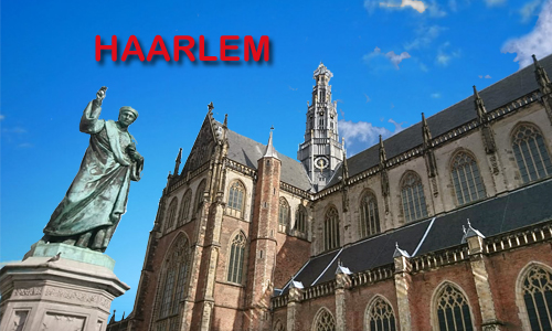 Your Host and Guide in Haarlem - a nice place to visit in Holland