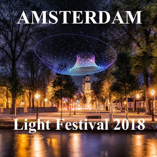 Amsterdam Light Festival 2018 Your Host & Guide www.yourhostandguide.nl
