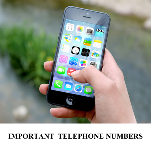 Important telephone numbers Your Host & Guide www.yourhostandguide.nl