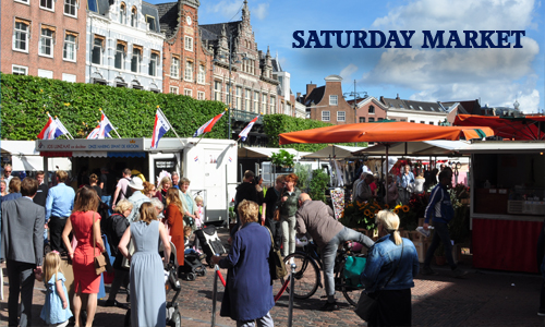 Saturday Market Haarlem Your Host and Guide in Haarlem - a nice place to visit in Holland