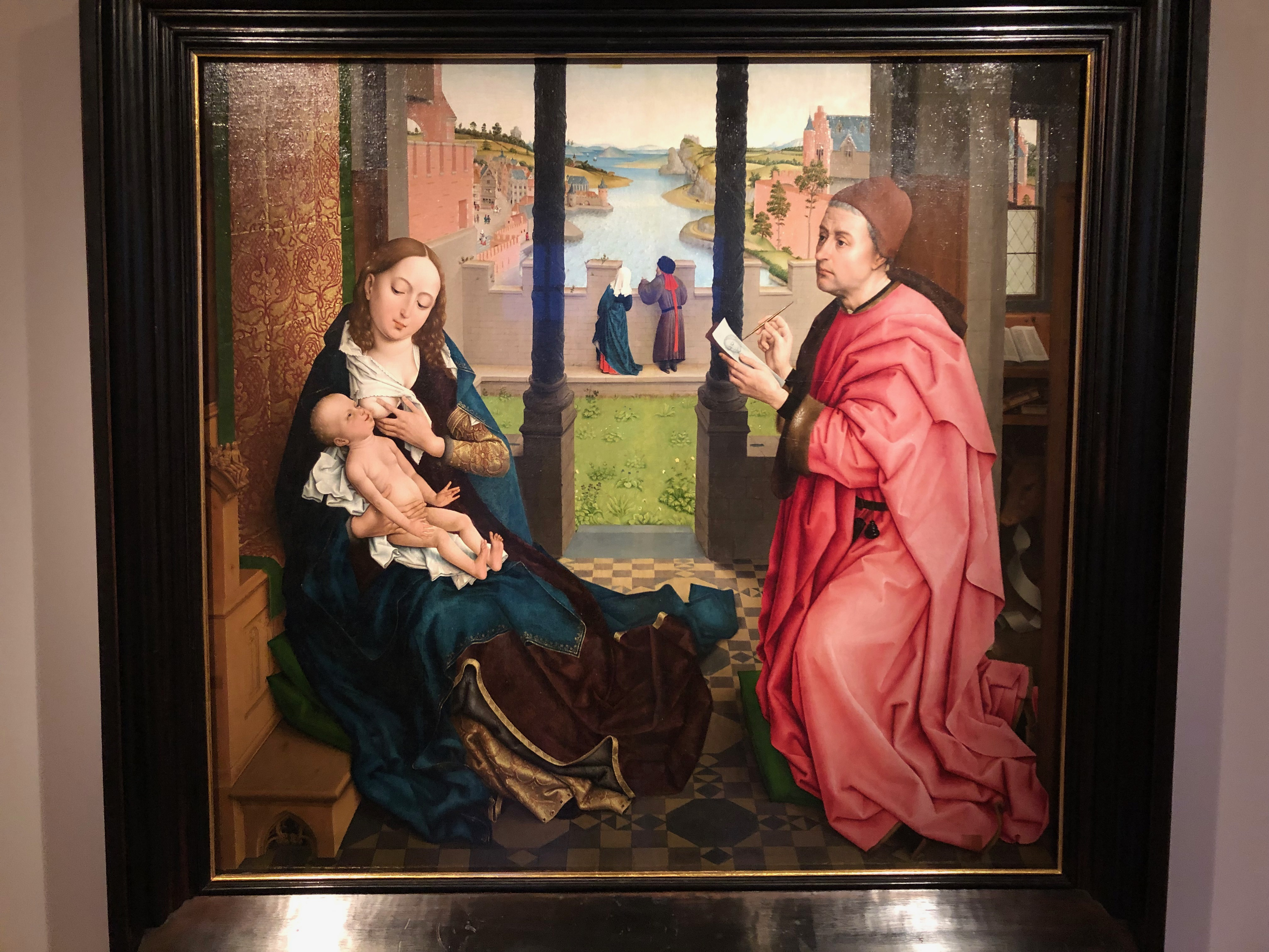 St Lucas painting the Madonna with Child,  Rogier van der Weyden, - hermitage - Your Host & Guide - www.yourhostandguide.nl